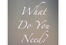 Needs?, What Needs? / Uncovering your unmet needs. visit www.CamerinRoss.com https://www.facebook.com/IECoaching