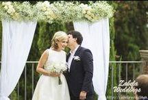 Wedding in Tuscany. www.zabelaweddings.it / Sasha+Olia's blessing ceremony & reception at villa Barbara in Tuscany.