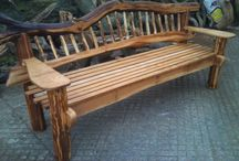 My woodworking projects. / Rustic one off wood masterpieces all handcrafted