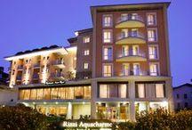 Hotel Rizzi Aquacharme / Rizzi Aquacharme Spa & Hotel**** è l'hotel partner di Terme di Boario. A soli 20 mt dalle Terme, l'hotel è il luogo ideale dove concedersi un soggiorno all'insegna del benessere. La filosofia del wellness termale è alla base degli ambienti, eleganti e ricercati, della cucina del ristorante Acero Rosso, tradizionale e ricercata, e nel confort delle sue 85 camere. Visita il sito www.rizziaquacharme.it