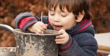 Outdoor play / Children need the opportunity to explore the unknown, the unpredictable and the adventurous.