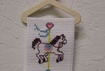 Hand Stitched / These items are hand sewn, embroidered or counted cross stitch.