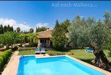 Fincas auf Mallorca / Fincas sind ländliche Ferienhäuser ohne direkte Nachbarschaft, oft mit eigenem Pool. Hier kann man den Urlaub in Ruhe mit Freunden und Familie verbringen.