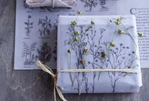 Gift wrapping / Gifts and cards inspiration