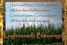 Lughnasadh / Ideas and inspiration for the first harvest festival