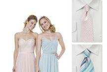 Styling Tipps: Welche Krawatte zu welchem Kleid? / Welche Krawatte, Fliege oder Manschettenknöpfe passen zum Kleid der Frau? Beispielsweise für Abschlussball, Hochzeiten oder Abendverantstaltungen.