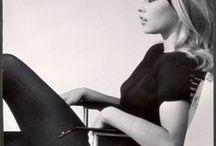 Icones - Vintage - Retro / Icones de la mode Vintage Rétro - Brigitte Bardot - Audrey Hepburn - Jackie Kennedy - Grace Kelly