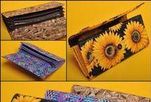 Kabelky, peněženky a jiné.. / Inspirace od našich zákazníků - ušito z našich látek