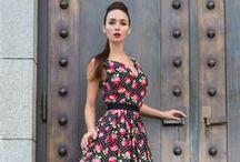 Šaty, sukně a jiné - ušito z našich látek / Inspirace od našich zákazníků
