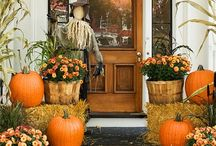 Fall/Autumn decor ideas / Holiday decor