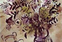 Art  - fleurs et fruits / by Dominique