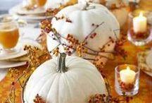 Fall Decor / Fall decorating ideas.