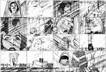 Rough & Storyboard / Character Design & Rough Sketch Art for Comic Strips and Storyboards from Movies, Video Games and other Media.