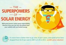 Renewable Energy / Awesome renewable energy like hydropower + solar energy.