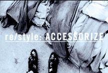 re/style: ACCESSORIZE / Denim Pairings