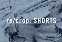 re/crop: SHORTS / Denim Shorts