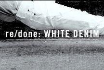 re/done: WHITE DENIM