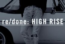 re/done: HIGH RISE / High Rise Fit