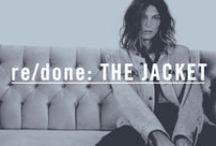 re/done: THE JACKET / Denim Jackets