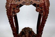 Декоративное искусство / Резьба по дереву, чеканка, керамика