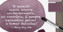 Consultoras Mary Kay / Essa pasta é especialmente para as Consultoras de Beleza, que procuram motivação, ajuda, dicas e material importante para obter sucesso e crescer em sua Carreira.