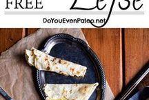 GF (Paleo) Lefse and tortillas