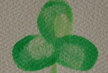 St. Patrick's Day / Anybody who loves a pet is lucky and so is the pet, Irish or not.  (But we actually are Irish:)