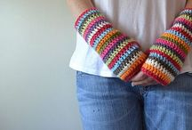 H|H|C|CLOTHING|ACCESSORIES / Happily Hooked Crochet clothing, accessories such as jewelry, hats, scarves, gloves, slippers and other personal wearable crocheted stuffofinterest. / by A Glover