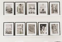 WALL OF PHOTOS / Photo and other wall arrangements, photo tips and other photo stuffofinterest. / by A Glover