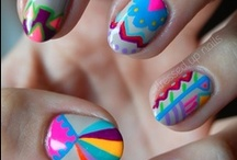 Nail Inspiration / Why not try copying these nail art works yourself!
