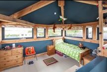 Fun and Quirky Oak Frame Spaces