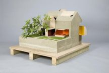 Architectural models / The best and most inspiring way to design and present architecture. / by Joep van der Veen