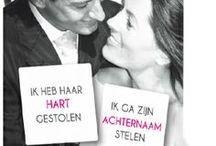 Humoristische trouwkaarten / Dit is een greep uit de trouwcollectie 'Humor' trouwkaarten van Kaart op Maat. Neem het leven niet te serieus en laat je gasten lachen met deze grappige trouwkaarten van Kaart op Maat.