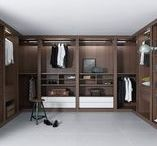 Custom Closets & Wardrobes / European Cabinets & Design Studios offers custom-designed wardrobes and closets in a variety of finishes and colors. The wide range of internal accessories available ensures that each unit fits the client's needs perfectly. Our in-house installation specialists guarantee quality and customer satisfaction.