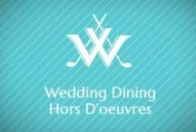 Wedding Hors d'oeuvres / Pass these apps at your wedding to get the party started. www.willoughbygolfclub.com