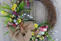 Easter home decor / crafts / Home decoration and craft ideas for Easter, with modern and Scandinavian flair.