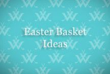 Easter Basket Ideas / Easter basket filler, baskets and candy ideas for kids AND adults.  #easter #bunny