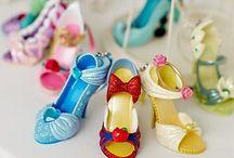 Disney Shoes / Disney Miniature Shoe collection.