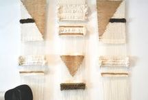 I LOVE WEAVING / Inspiration from different sorts of weaving projects