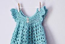Homemade kids clothes / Sewing, crocheting and knitting ideas, inspiration and tutorials for babies, toddlers and kids! Mainly clothes for babies, girls and accessories.