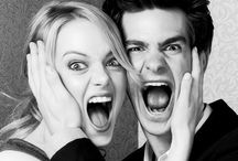 Andrew and Emma / Emma Stone + Andrew Garfield = Stonefield ❤️❤️❤️
