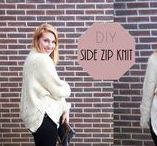 MY FASHION DIY PROJECTS / Oh yes, all fashion DIY projects with tutorials from Studio UpNorth are here. Enjoy making!