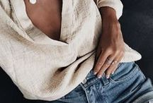 I LOVE LINEN / Love the natural feel and texture of linen things