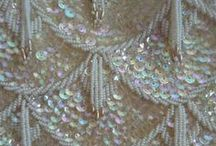 ART DECO EMBROIDERY / Embroidery from Art Deco period or inspired by it.