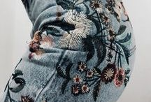 I LOVE DENIM EMBROIDERY / Inspiration from embroidery on denim