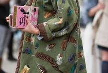 I LOVE STREETSTYLE EMBROIDERY / Currently love embroidered fashion I see on the streets