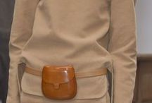 I LOVE FANNYPACKS / Fannypacks in simple shapes and neutral colours