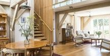 Tewkesbury light-filled home / Traditional framing techniques combined with modern materials, methods and finishing create a light filled home in Tewkesbury, England