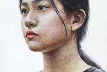 Watercolor Figure and Portrait