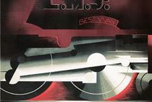 Vintage Travel / Vintage posters persuading us to go somewhere else...